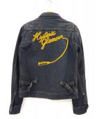 Hysteric Glamour(ヒステリックグラマ)の古着「デニムジャケット」 ブラック