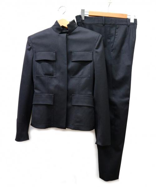 GUCCI(グッチ)GUCCI (グッチ) セットアップ ブラック サイズ:38 イタリア製の古着・服飾アイテム