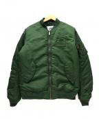 Franklin & Marshall(フランクリンマーシャル)の古着「MA-1ジャケット」|グリーン