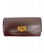 FENDI(フェンディ)の古着「2つ折り財布」|ブラウン