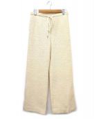 CELINE(セリーヌ)の古着「イージーパンツ」 アイボリー