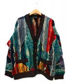 COOGI(クージー)の古着「3D立体カーディガン」|マルチカラー