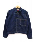 LEVIS(リーバイス)の古着「1stデニムジャケット」|インディゴ