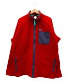 Patagonia(パタゴニア)の古着「フリースジャケット」|ボルドー