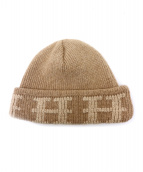 HERMES(エルメス)の古着「ニット帽」|ベージュ