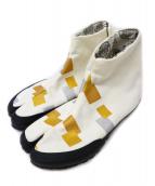 SOU・SOU(ソウソウ)の古着「足袋スニーカー」|ホワイト