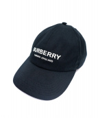 BURBERRY(バーバリー)の古着「ロゴキャップ」 ブラック