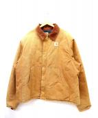 CarHartt(カーハート)の古着「ダック地ジップジャケット」|ブラウン