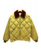 WAREHOUSE(ウエアハウス)の古着「キルティングジャケット」|カーキ