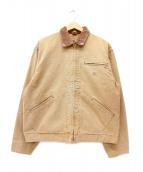 LEVI'S(リーバイス)の古着「ダック地ジップジャケット」|ブラウン