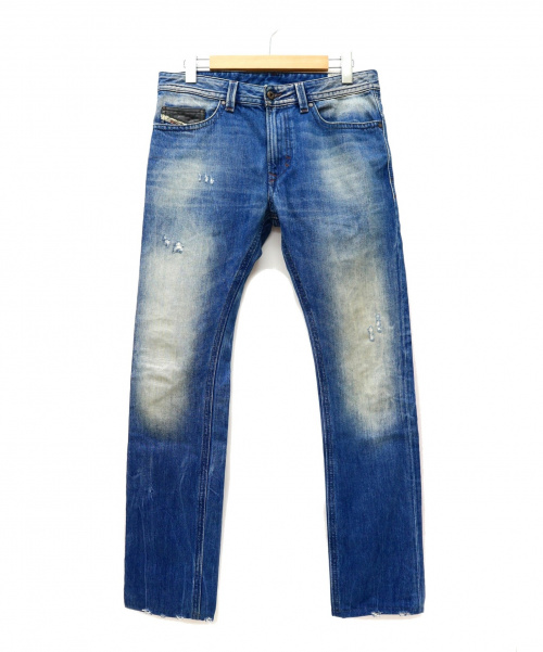 DIESEL(ディーゼル)DIESEL (ディーゼル) デニムパンツ インディゴ サイズ:30 THAVARの古着・服飾アイテム