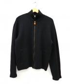 Paul Smith London()の古着「ニットジャケット」 ブラック