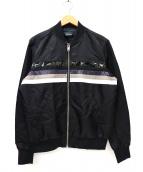 DIESEL(ディーゼル)の古着「ジップブルゾン」|ブラック
