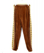 GUCCI(グッチ)の古着「ジョギングルーズパンツ」 ブラウン