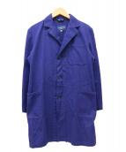 LABWEAR by Fraizzoli(ラブウェア バイ フライツォーリ)の古着「ワークショップコート」|インクブルー