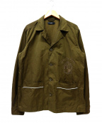 DIESEL(ディーゼル)の古着「シャツジャケット」 オリーブ