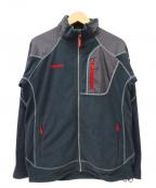 MARMOT(マーモット)の古着「フリースジャケット」|ブラック