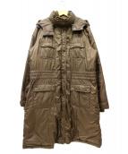 LACOSTE(ラコステ)の古着「ダウンコート」|ブラウン