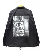 WACKO MARIA×森山 大道(ワコマリア×モリヤマ ダイドウ)の古着「コーチジャケット」 ブラック
