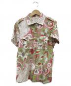 ETRO()の古着「ペイズリー柄ポロシャツ」|マルチカラー