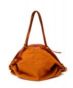 IL BISONTE(イルビゾンテ)の古着「キャンバスバッグ」|ブラウン