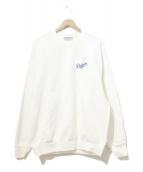 VINTAGE(ヴィンテージ)の古着「[古着]90sプリントスウェット」|ホワイト