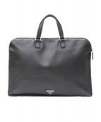 PRADA(プラダ)の古着「ブリーフケース/ビジネスバッグ」|ブラック