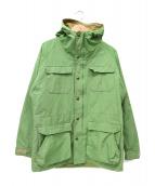 SIERRA DESIGNS(シェラデザインズ)の古着「60/40クロスジャケット」 黄緑