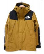 THE NORTH FACE(ザノースフェイス)の古着「Mountain Jacket / マウンテンジャケット」|ブラック×ベージュ