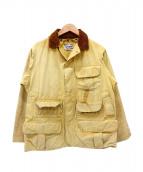 VINTAGE WORK(ヴィンテージワーク)の古着「[古着]50'sハンティングジャケット」|ベージュ