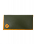 HUNTING WORLD(ハンティングワールド)の古着「札入れ財布 /ロングウォレット」|グリーン