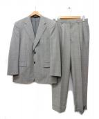 BROOKS BROTHERS(ブルックスブラザーズ)の古着「グレンチェックセットアップスーツ」|グレー