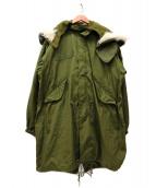 VINTAGE MILITARY(ヴィンテージ ミリタリー)の古着「[古着]M65モッズコート」|カーキ
