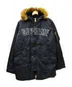 Supreme(シュプリーム)の古着「アーチロゴN-3Bジャケット」|ブラック