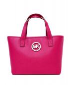 MICHAEL KORS(マイケルコース)の古着「ハンドバッグ」|ピンク