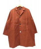 Johnbull(ジョンブル)の古着「マルチボタンワークショップジャケット」|ブラウン