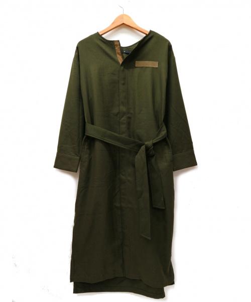 JOHNBULL(ジョンブル)Johnbull (ジョンブル) ミリタリードレス カーキ サイズ:Fの古着・服飾アイテム