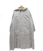 Johnbull(ジョンブル)の古着「デニムフードバギーコート」|グレー