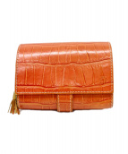 Felisi(フェリージ)の古着「2つ折り財布」|ブラウン
