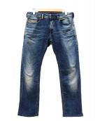 DIESEL(ディーゼル)の古着「スウェットデニムパンツ/ジョグジーンズ」|インディゴ
