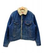 LEVI'S(リーバイス)の古着「[古着]ボアデニムジャケット」|インディゴ