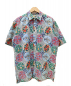 reyn spooner(レインスプーナー)の古着「80sアロハシャツ」|ブルー