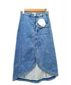 SEE BY CHLOE(シーバイクロエ)の古着「デニムスカート」|インディゴ