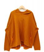 O project(オープロジェクト)の古着「プルオーバーパーカー」|オレンジ