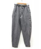 LEVI'S SPORTS(リーバイス スポーツ)の古着「[古着]90'sジョガーデニムパンツ」 グレー
