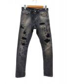 DIESEL(ディーゼル)の古着「ジョガーパンツ」|グレー