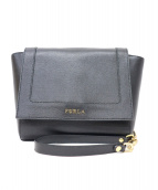 FURLA(フルラ)の古着「チェーンショルダーバッグ」|ブラック
