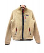 Patagonia(パタゴニア)の古着「レトロパイルフリースジャケット」|ベージュ