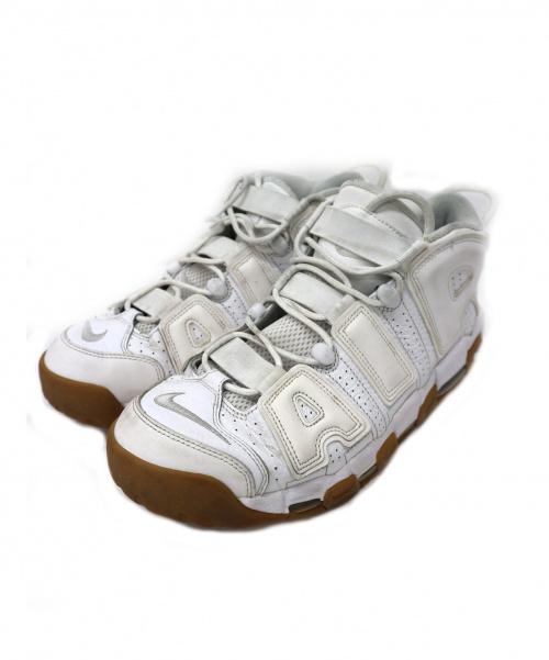 NIKE(ナイキ)NIKE (ナイキ) AIR MORE UP TEMPO / モアアップテンポ ホワイト サイズ:28 WHITE/GUM モアテン ガムの古着・服飾アイテム