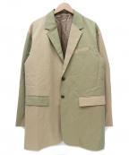 JOURNAL STANDARD TRISECT(ジャーナルスタンダードトライセクト)の古着「テーラードジャケット」|ベージュ